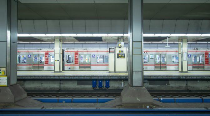 大阪メトロ大国町駅でホームドア設置の準備!?
